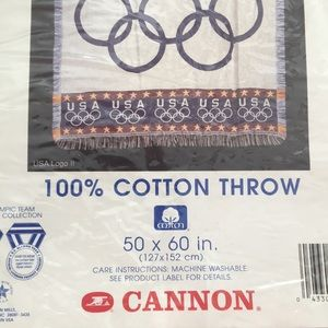 cannon accessories usa olympic throw blanket size 50 x 60 poshmark